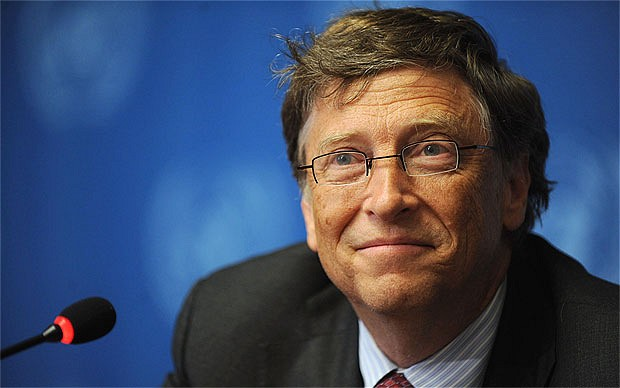 bill gates 2012907b - Bill Gates reclama el establecimiento de un Gobierno Mundial