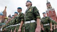 TRAS UNA SERIE DE MANIOBRAS MILITARES, RUSIA PONES SUS TROPAS AEROTRANSPORTADAS DE VOLGOGRADO ENALERTA