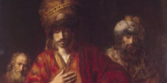 Haman, pintado opr Rembrandt