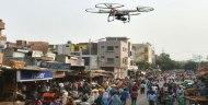 INDIA USARÁ DRONES PARA CONTROLAR A LASMULTITUDES