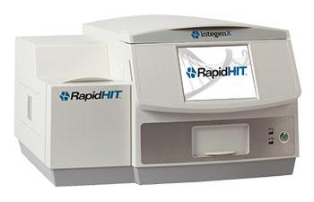 RapidHIT 200, uno de los sistemas portátiles de análisis de ADN utilizados actualmente por el ejército