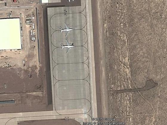 Aviones de Janet en el Área 51