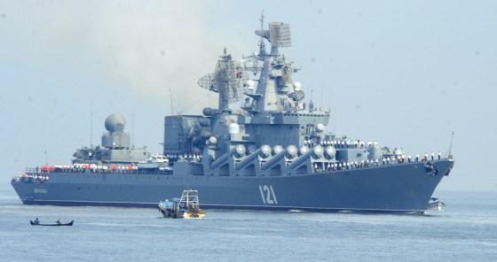 Buque de misiles Moskvá