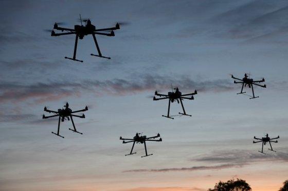 many-drones