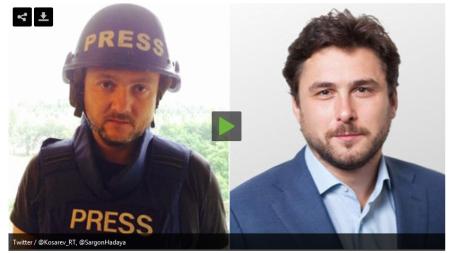 periodistas rusos