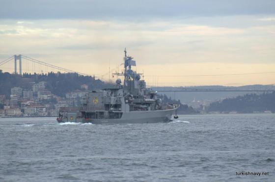 Hetman frigate