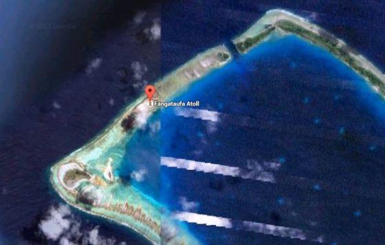 Fangataufa-atoll