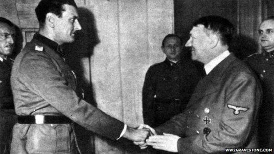 Skorzeny y Hitler