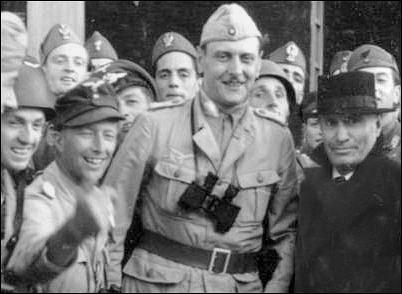 Rescate de Mussolini, realizador por tropas dirigidas por Skorzeny
