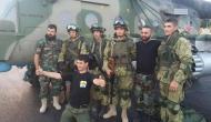 INFORME: PUTIN ENVIÓ MERCENARIOS PRIVADOS A MISIONES SECRETAS EN SIRIA YUCRANIA