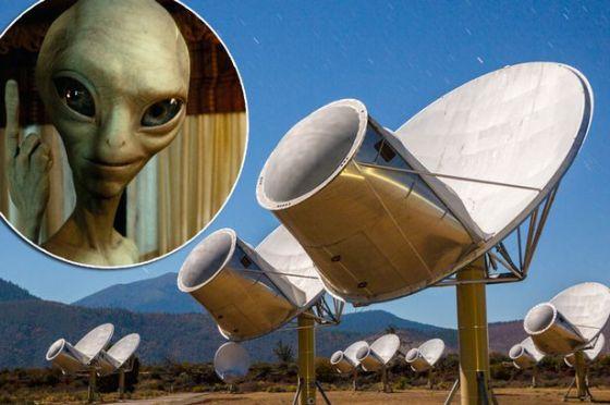"""ASTRÓNOMOS DESCONCERTADOS TRAS DETECTAR UNA PODEROSA """"SEÑAL EXTRATERRESTRE"""" The-allen-telescope-array"""