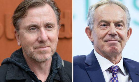 Tim Roth, (izquierda), Tony Blair (derecha)