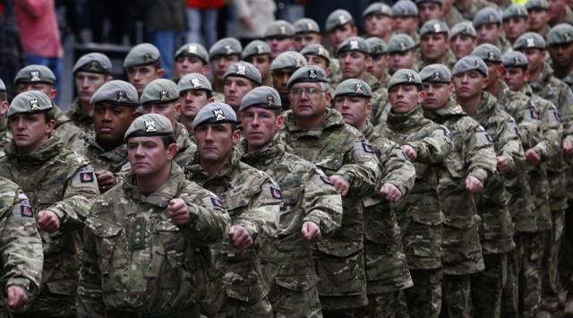Resultado de imagen para tropas europeas