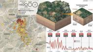 GEÓLOGOS TEMEN QUE FALLAS DURMIENTES PUEDAN DEVASTAR ITALIA Y OTRAS ZONAS DEEUROPA