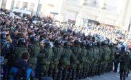 CENTENARES DE DETENIDOS EN MANIFESTACIONES CONTRA EL GOBIERNO ENRUSIA