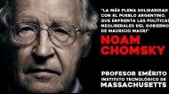 CHOMSKY SE UNE A LA CAMPAÑA INTERNACIONAL CONTRA EL PRESIDENTEMACRI