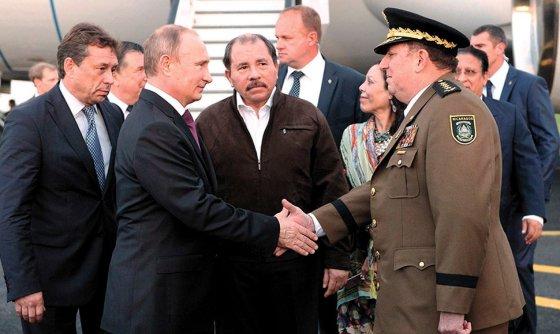 Preocupación en EEUU por presencia Rusa en Nicaragua