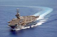 COREA DEL NORTE AMENAZA CON HUNDIR EL PORTAAVIONES USS CARL VINSON DEEEUU