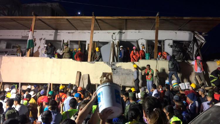 TERREMOTO DEVASTADOR SACUDE MÉXICO