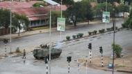 GOLPE DE ESTADO EN ZIMBABUE: EL PRESIDENTE MUGABEDETENIDO